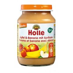 Jabłko banan morela 190g Holle